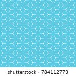 geometric grid with intricate... | Shutterstock .eps vector #784112773