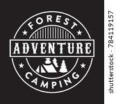 adventure vintage logo   badge    Shutterstock .eps vector #784119157