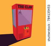 old arcade game   the claw... | Shutterstock .eps vector #784135453