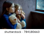 child abuse at home | Shutterstock . vector #784180663