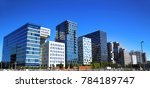 panoramic view of modern... | Shutterstock . vector #784189747