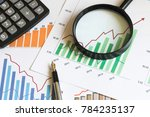 chart business diagram search... | Shutterstock . vector #784235137
