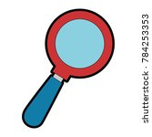 search magnifying glass icon   Shutterstock .eps vector #784253353
