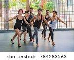 danabierta dance troupe  havana ...   Shutterstock . vector #784283563
