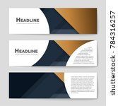 abstract vector layout... | Shutterstock .eps vector #784316257