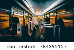 motion blur of interior of a... | Shutterstock . vector #784395157
