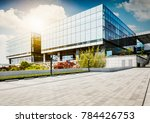 large modern office building | Shutterstock . vector #784426753