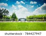 the beautiful park | Shutterstock . vector #784427947