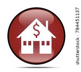 house and euro sign icon. real... | Shutterstock . vector #784451137