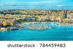 Valletta  Malta  Aerial View...