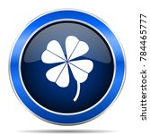four leaf clover vector icon.... | Shutterstock .eps vector #784465777