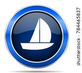yacht vector icon. modern... | Shutterstock .eps vector #784465837
