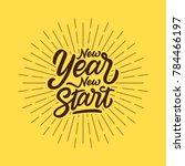 hand lettering   typography...   Shutterstock .eps vector #784466197