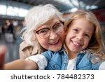 cool picture. close up portrait ... | Shutterstock . vector #784482373