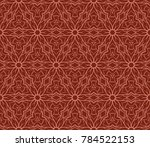 lace seamless geometric pattern.... | Shutterstock .eps vector #784522153