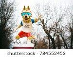 january 1  2018  rostov on don. ... | Shutterstock . vector #784552453