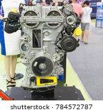concept of modern vehicle motor ... | Shutterstock . vector #784572787