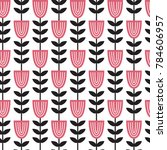 vector seamless pattern with... | Shutterstock .eps vector #784606957