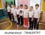 leningrad region  russia   may... | Shutterstock . vector #784634797