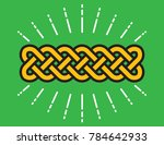 celtic infinity knot vector...