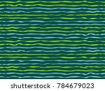 futuristic curved stripes... | Shutterstock .eps vector #784679023