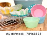 Variety Of Cupcake Liners In...