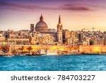 Valletta  Malta  Skyline From...