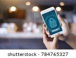 privacy access login... | Shutterstock . vector #784765327