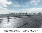 blurred urban traffic road with ... | Shutterstock . vector #784775797