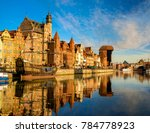 old town in gdansk  poland | Shutterstock . vector #784778923