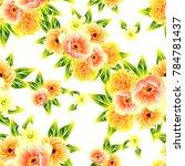 abstract elegance seamless... | Shutterstock .eps vector #784781437