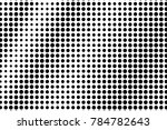 black and white dotted... | Shutterstock .eps vector #784782643