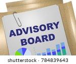 3d illustration of advisory... | Shutterstock . vector #784839643