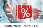 businessman on blurred...   Shutterstock . vector #784918147