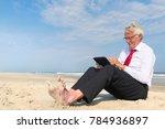 business man in formal suit... | Shutterstock . vector #784936897