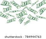 Falling 100 Dollar Bills....