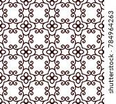 vintage ornamental seamless... | Shutterstock .eps vector #784964263