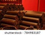 chinese ancient books | Shutterstock . vector #784983187