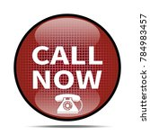 call now icon .internet button... | Shutterstock . vector #784983457