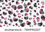 love heart valentine background ... | Shutterstock .eps vector #784990207