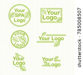 eco spa logo | Shutterstock .eps vector #785008507