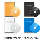 software package. realistic... | Shutterstock .eps vector #785022703