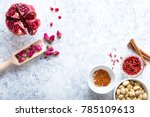 arab ingredients  middle... | Shutterstock . vector #785109613