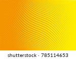 abstract futuristic halftone... | Shutterstock .eps vector #785114653