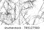 scratch black and white... | Shutterstock .eps vector #785127583