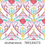 graceful seamless texture with...   Shutterstock .eps vector #785134273