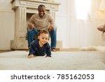 play with me. vigorous dark... | Shutterstock . vector #785162053