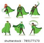 vector illustration in flat... | Shutterstock .eps vector #785177173