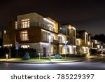 moscow region   november 13 ...   Shutterstock . vector #785229397
