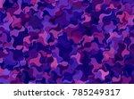 dark pink  blue vector abstract ... | Shutterstock .eps vector #785249317